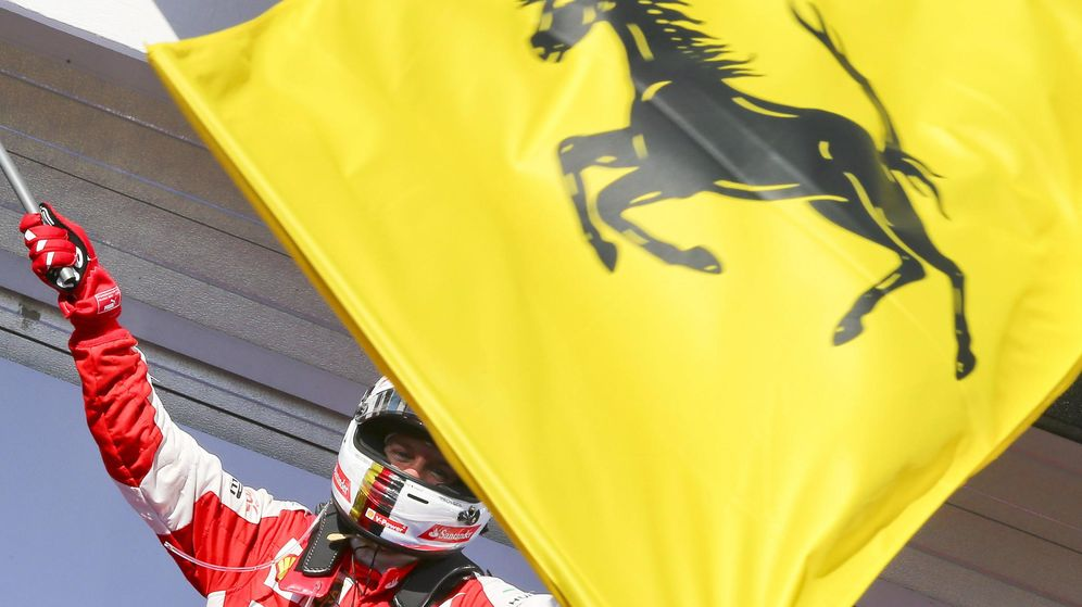 Foto: Sebastian Vettel le dedicó la victoria a Jules Bianchi (Efe)