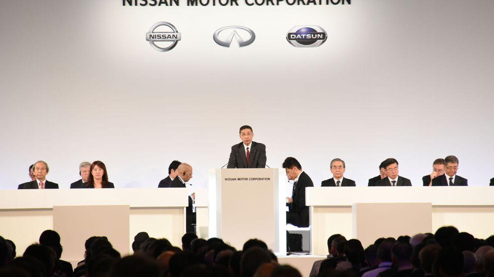 Foto: Junta de accionistas de Nissan. (Reuters)