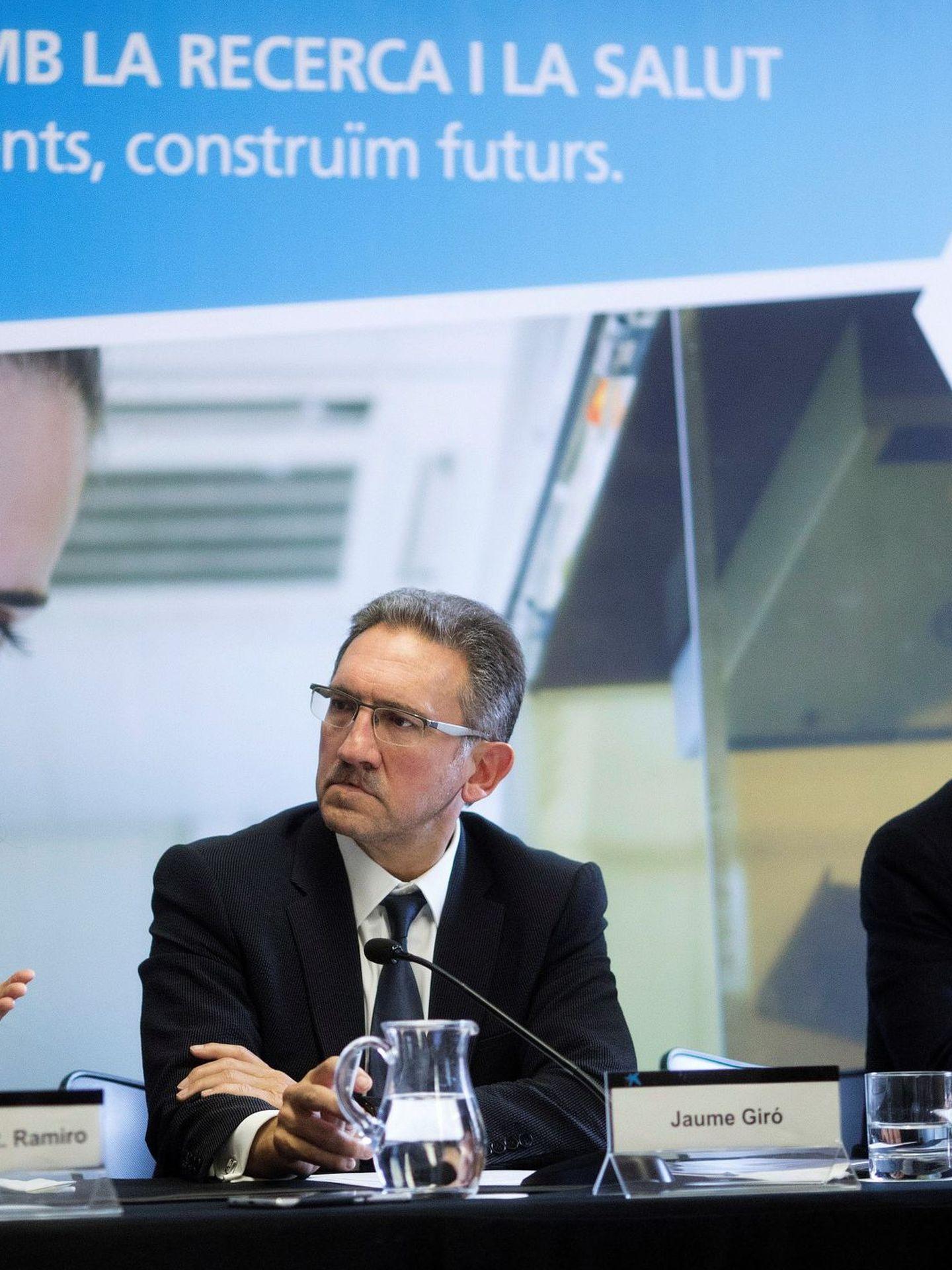 El hasta ahora director general de la Fundación Bancaria La Caixa, Jaume Giró.  (EFE)
