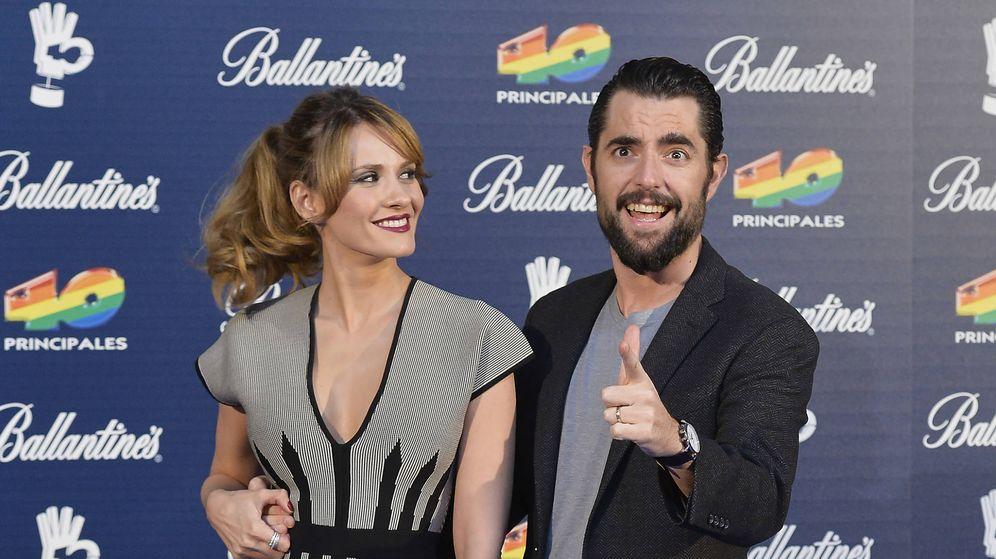 Foto: Dani Mateo y su exmujer, Elena Ballesteros. (Getty)