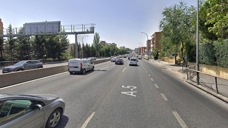 Llega el nuevo radar 'multón' de Madrid: ya está activo el control de tramo de la A-5