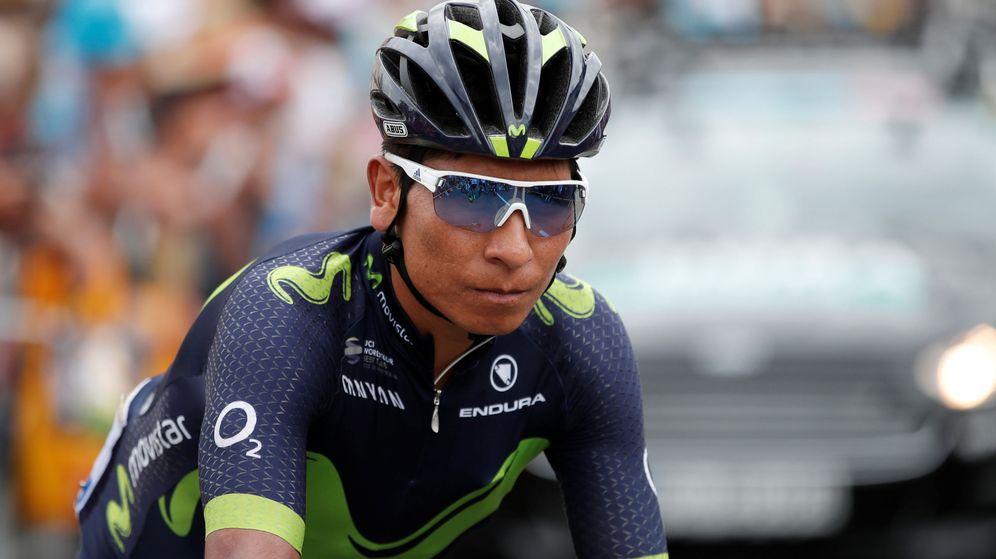 Foto: Quintana, durante el Tour. (Reuters)