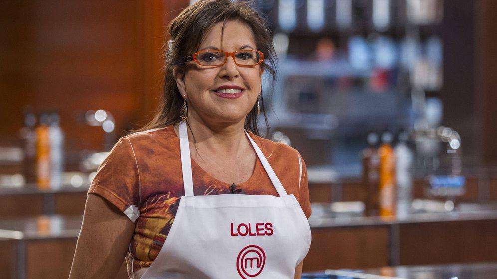 Foto: Loles León en las cocinas de 'MasterChef Celebrity'