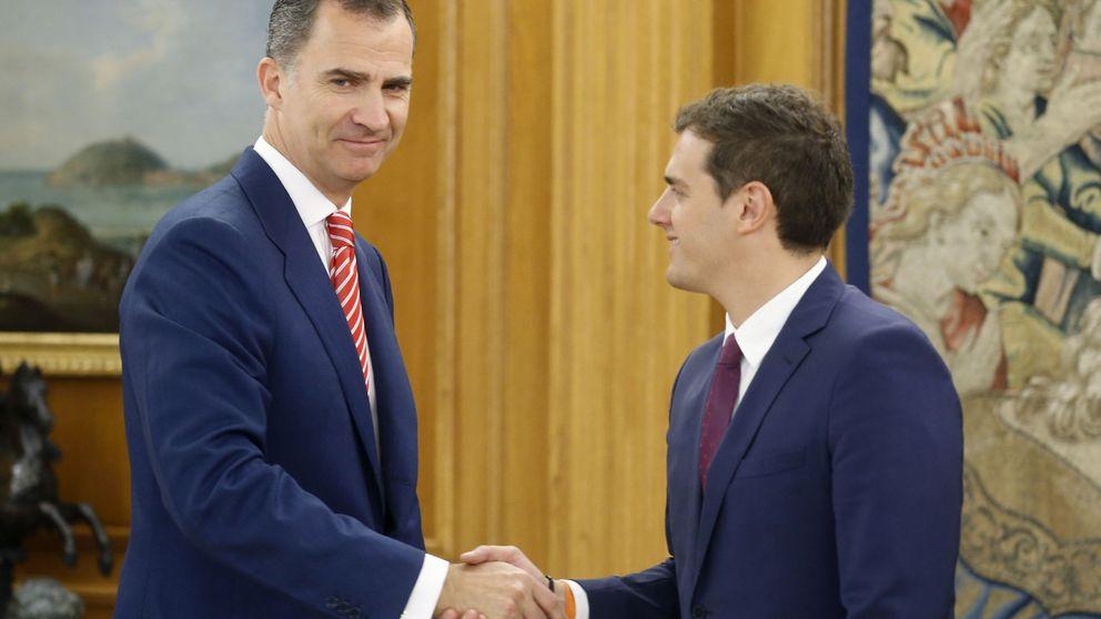 Rivera insiste al Rey en un Gobierno de consenso con un presidente nuevo