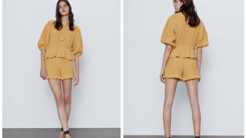 El total look de Zara. (Cortesía)