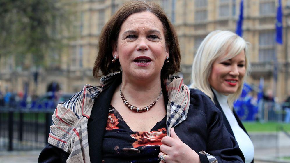 Foto: Mary Lou McDonald, líder del Sinn Féin. (Reuters)