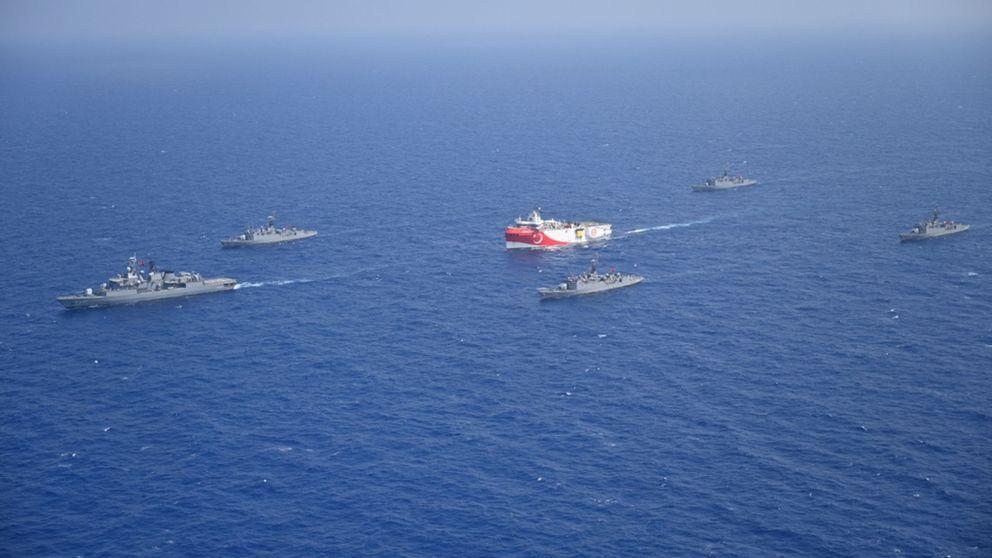Turquía prolonga las prospecciones de gas en el Mediterráneo pese a la escalada militar