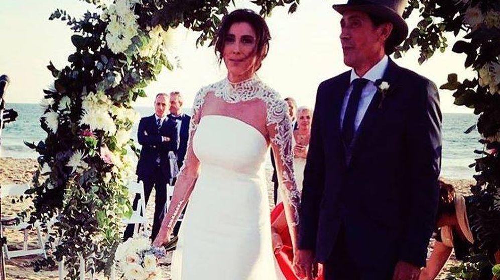 noticias de famosos: todos los detalles de la romántica boda de paz