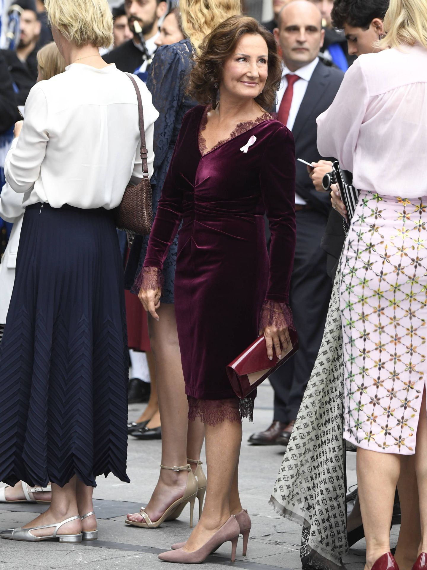 Paloma Rocasolano, con un look de impresión. (Limited Pictures)
