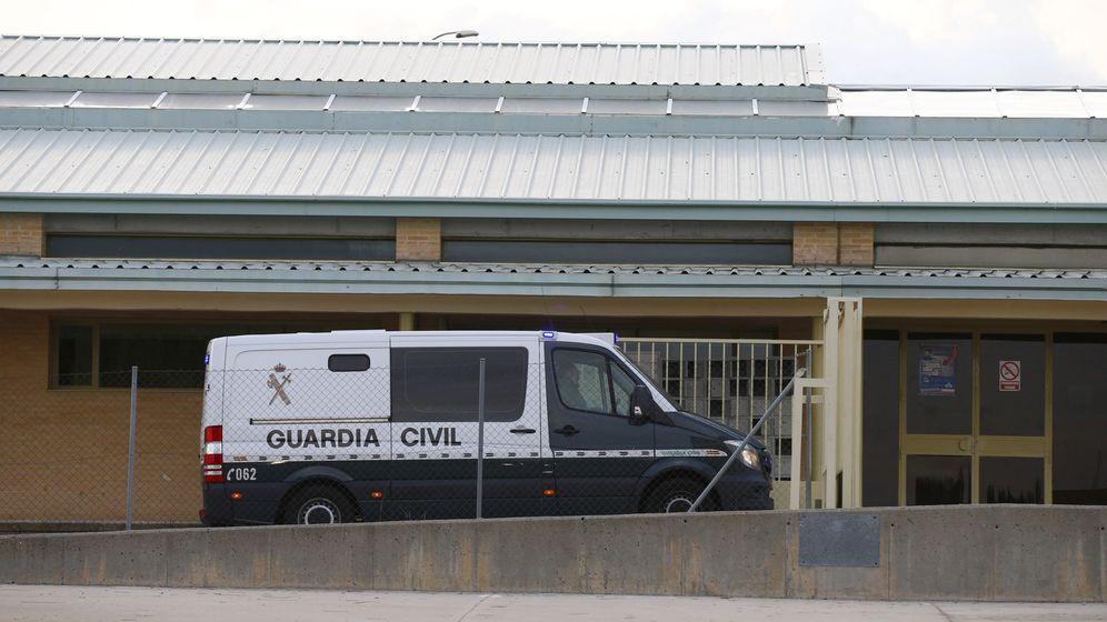 Foto: Villar es trasladado a la prisión de Soto del Real ayer. (EFE)