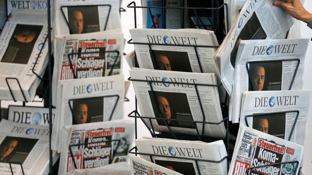 Foto: Periodicos de Axel Springer en la junta de accionistas de 2014. (Reuters)