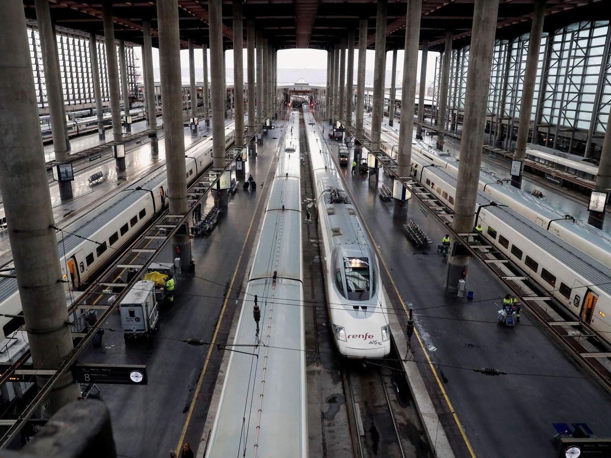 Foto: Estación de Atocha, en Madrid. (EFE)