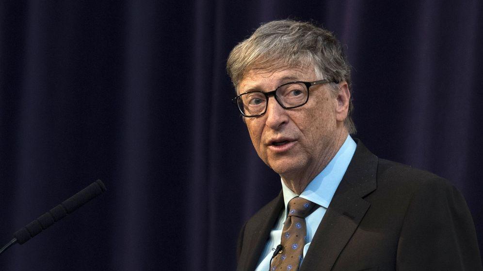 Foto: Discurso de Bill Gates en Reino Unido. (EFE)