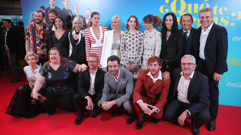 El equipo de la película. (EFE)