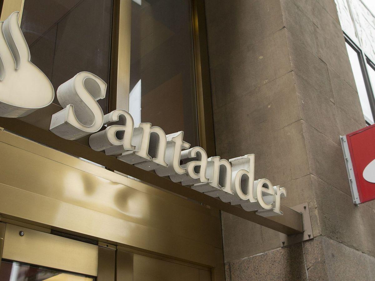 Foto: Oficina del Banco Santander