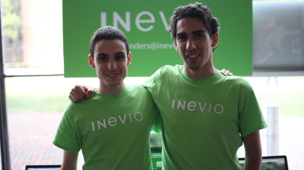 Foto: Javier Garmón y Roberto Gómez, creadores de Inevio.