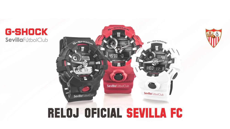 Foto: La marca ha diseñado y comercializará cinco modelos de relojes en una edición especial para el club sevillano
