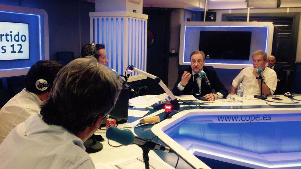 Florentino: Claro que pone más cachondo dar malas noticias del Madrid
