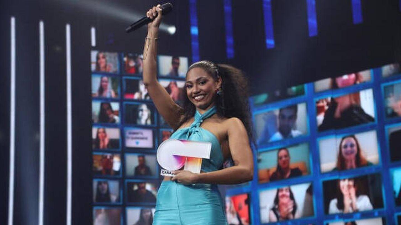 Nia Correia, ganadora de 'OT 2020'. (TVE)