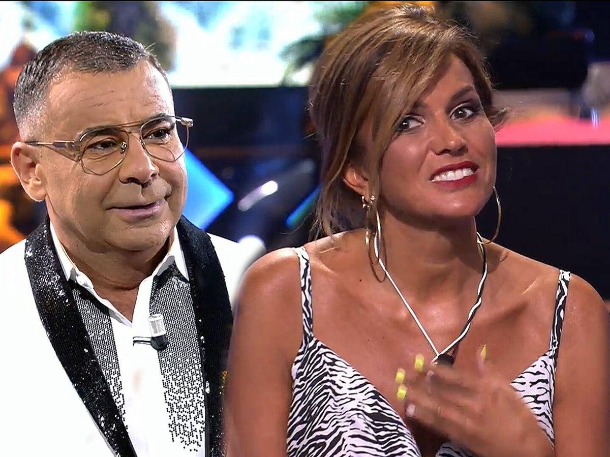 Foto: Jorge Javier Vázquez y Marta López, en 'Supervivientes'. (Mediaset)