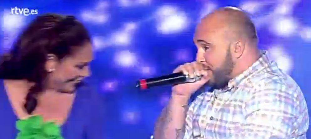 Foto: Durante la actuación (RTVE)
