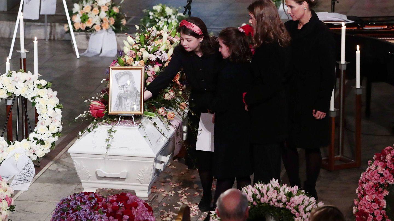 Funeral de Ari Behn. (EFE)