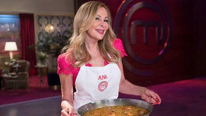 Ana Obregón, en 'MasterChef Celebrity'. (TVE)