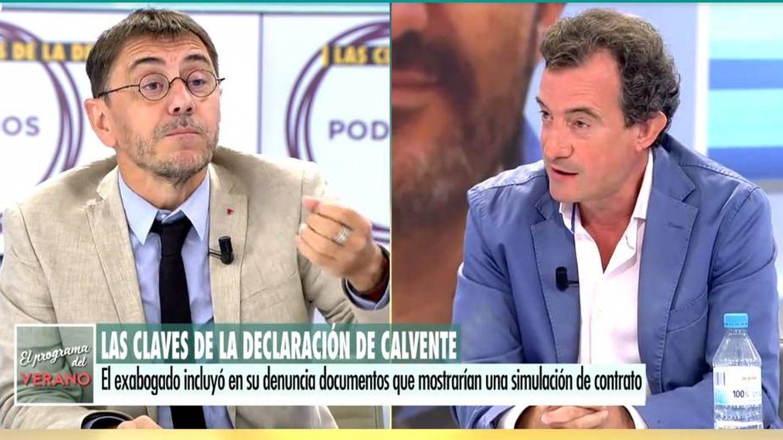 Javier Gállego atiza a Monedero en Telecinco: Sois peor que los partidos que veníais a regenerar