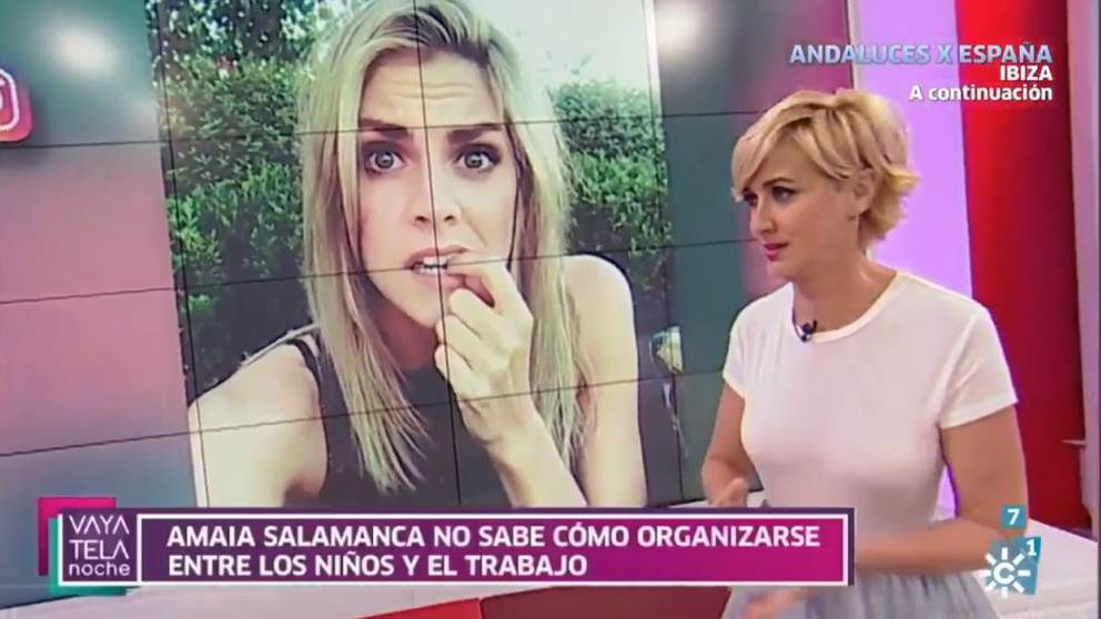 La presentadora de Canal Sur, Mar Vega, pide perdón a Amaia Salamanca