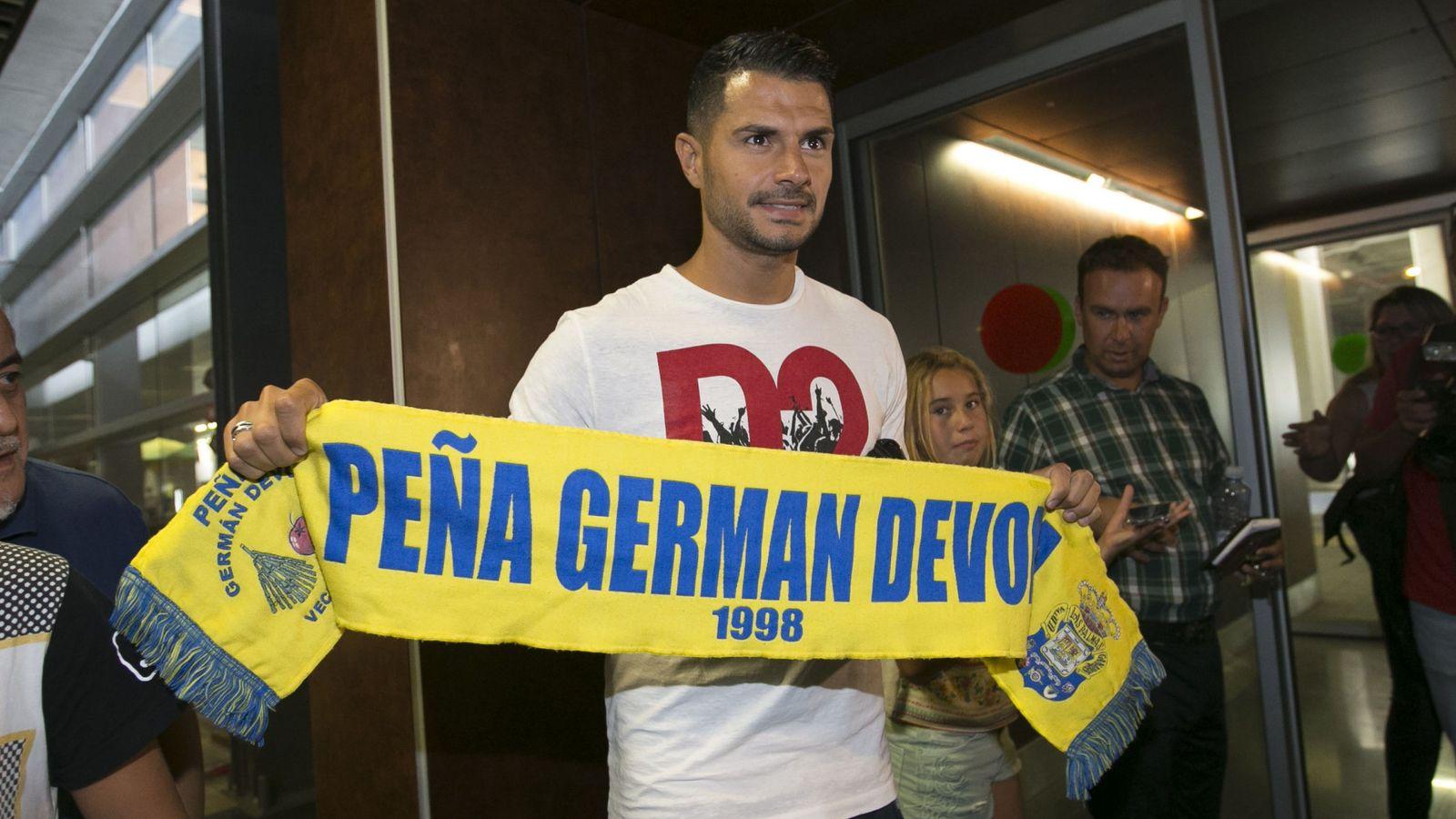 Foto: Vitolo es, a todos los efectos, jugador de Las Palmas. (EFE)