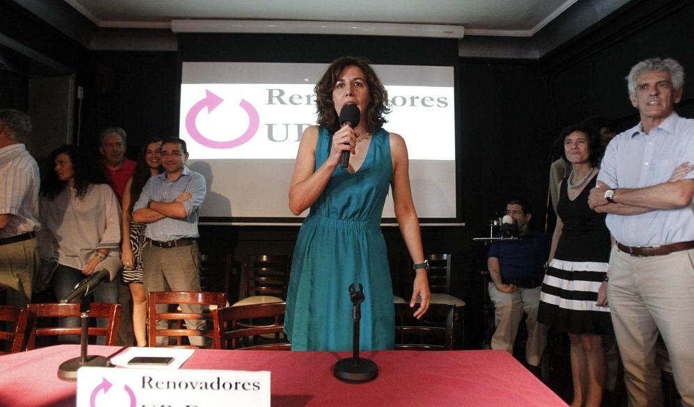 Foto: Irene Lozano, en la presentación de la candidatura de 'Renovadores'. (EFE)