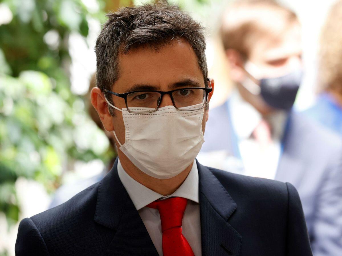 Foto: El ministro de la Presidencia y Relaciones con las Cortes, Félix Bolaños. (EFE)