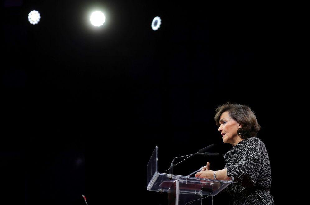 Foto: La vicepresidenta del Gobierno en funciones, Carmen Calvo, el pasado 13 de diciembre en Madrid. (EFE)