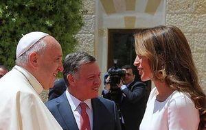 Rania de Jordania, una reina frente al papa Francisco I