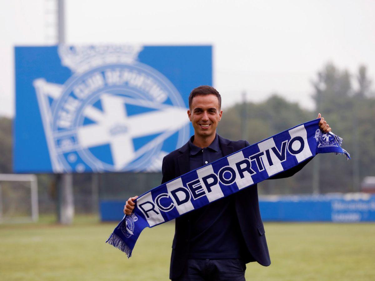 Foto: Borja Jiménez, entrenador del Deportivo. (EFE)