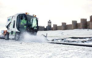 Toda España en alerta por nieve, viento y un fuerte oleaje