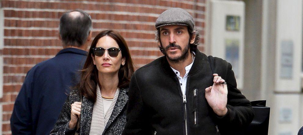 Eugenia Silva y Alfonso de Borbón, a punto de ser padres, pero cada uno en su casa