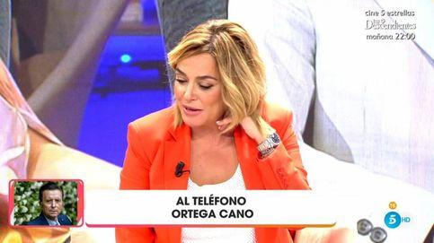 Toñi Moreno refresca la memoria a Ortega Cano sobre el diario en 'Viva la...'