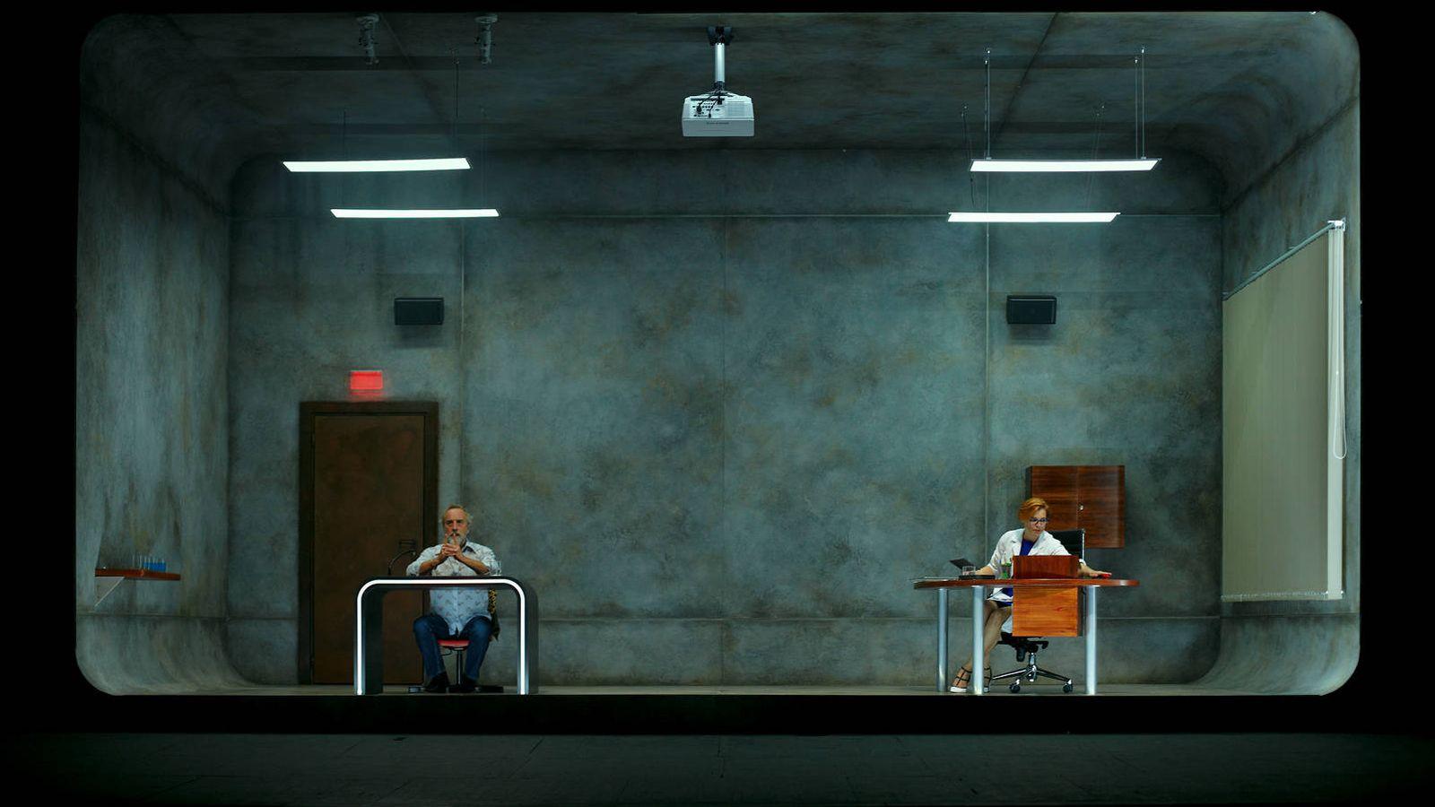 Foto: Gonzalo de Castro y Elisabet Gelabert protagonizan 'Idiota'. (Vanessa Rabade)