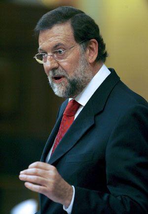 """Rajoy: """"Hoy el tema más importante es el fútbol"""""""