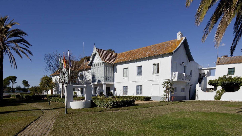El Palacio de las Marismillas, en Doñana. (Getty)
