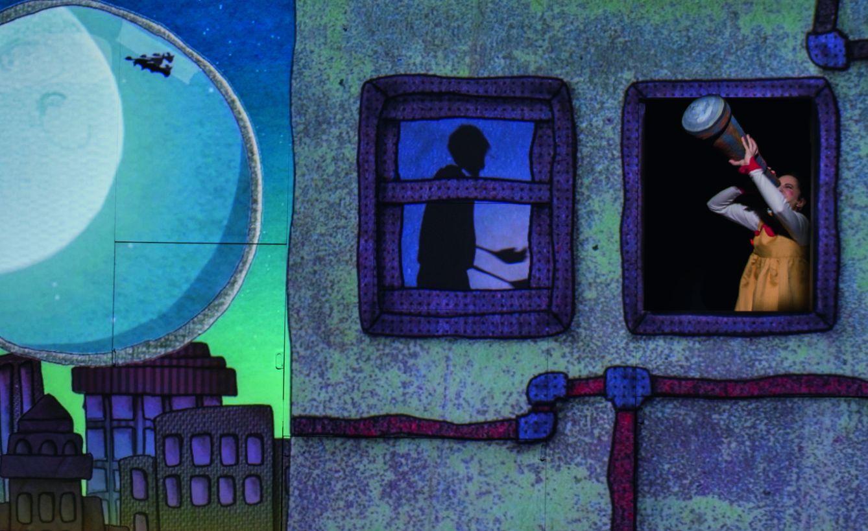 Foto: 'A la luna', el espectáculo que se puede ver en El Pavón Teatro Kamikaze