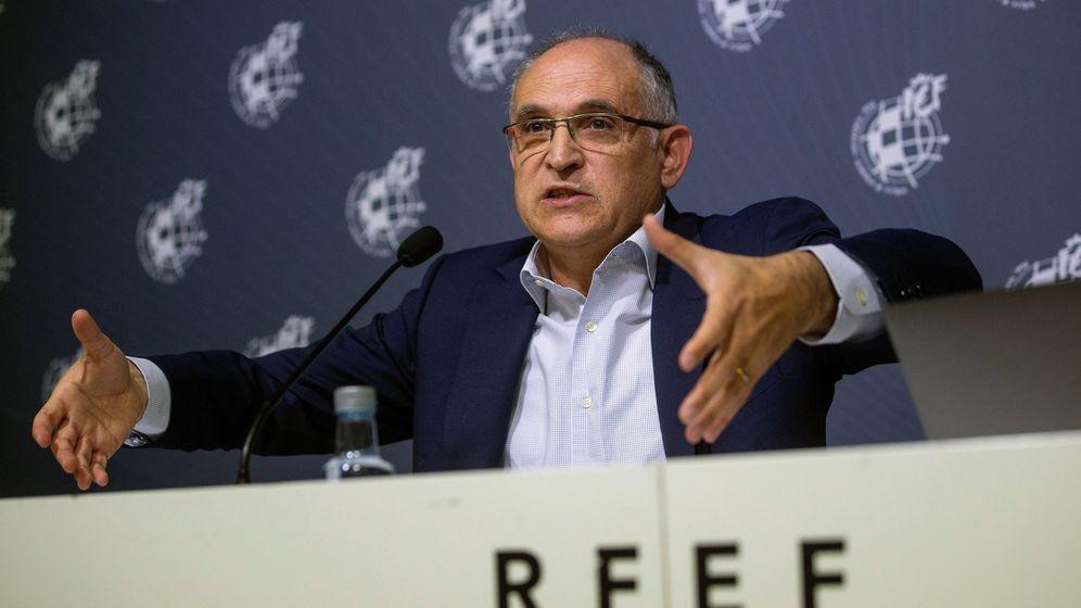 Foto: Andreu Camps, secretario general de la Federación Española de Fútbol (RFEF). (EFE)