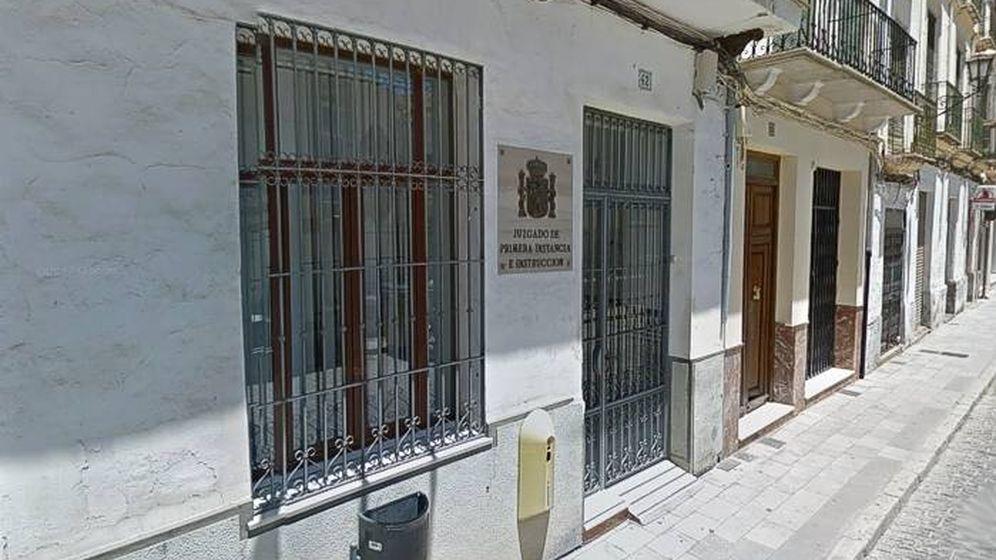 Foto: Juzgado de Primera Instancia de Archidona, en Málaga