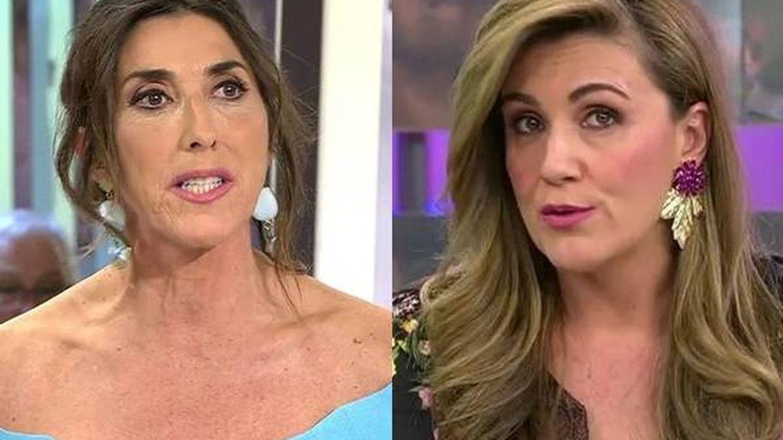 Paz Padilla y Carlota Corredera enfrentadas por su puesto en 'Sálvame'