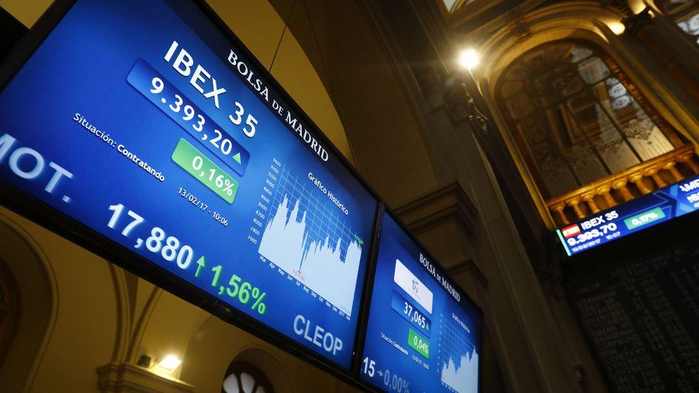 Las caídas dejan a 20 valores del Ibex con un potencial de más del 10%