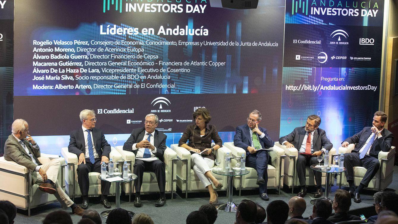 Andalucía Investors Day: Junta y empresas se conjuran para atraer capital exterior
