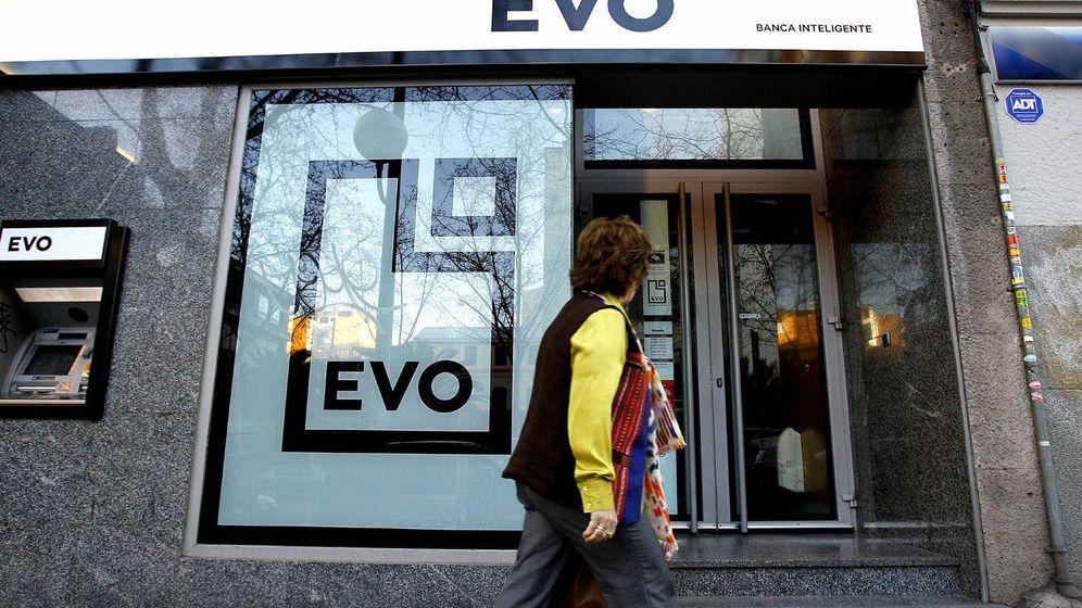 Foto: Oficina de EVO Banco en Madrid. (EFE)