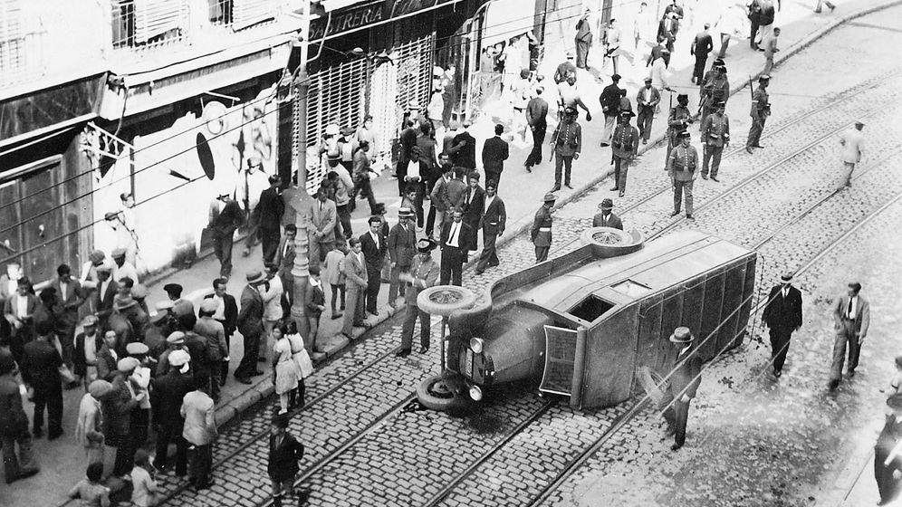 Foto: Huelga General en España, 1917
