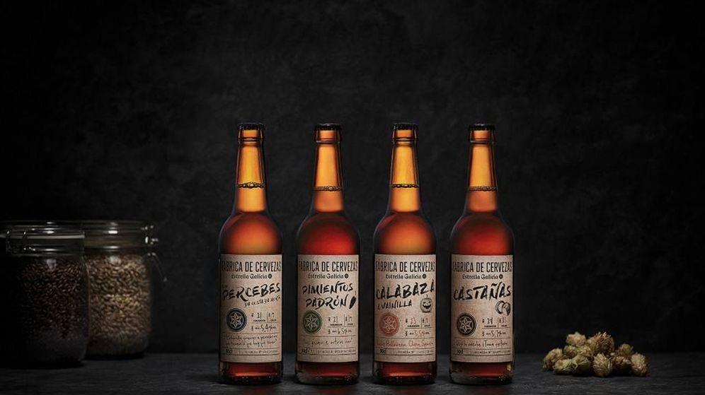 Foto: Las cervezas con sabores.